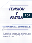 Tension y Fatiga
