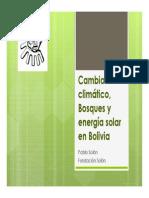 Cambio Climático y Energía Solar en Bolivia