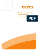 Poppy - Family Centred Nursing - Report Neonatal Unit