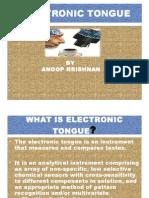 Electronic  toungue.ppt