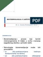 Biotehnologija u Zo -Bioremedijacija
