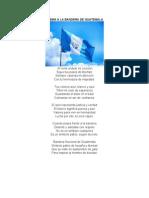 7 Poemas de Los Simbolos Patrios de Guatemala