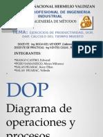 ejercicio sobre dop