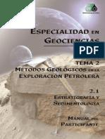 2.1 A MP Estratigrafía y sedimentología