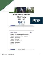 Plant Maintenance Overview