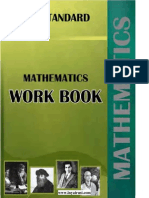 Sslc Mathematics Workbook Old