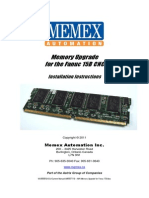 M100711D MAI Memory Upgrade for Fanuc 15B2
