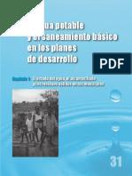 El agua potable y el saneamiento básico en los planes de desarrollo