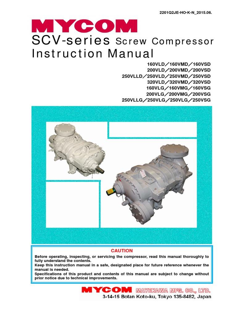 scv im20150612e pdf gas compressor refrigeration rh es scribd com