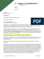 Am Jur 2d Affidavits Sections 1 20