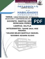 ENTREVISTA DE TRABAJO (3 PERSONAS)