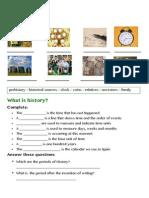 History - Worksheets