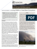 Wind Erosion Following Wildfire in Great Basin Ecosystems