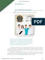 Legislação e Politícas Públicas Em Saúde Mental