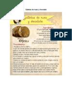 Galletas de Nuez y Chocolate