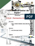 C.E.10 - Pavimentos Urbanos