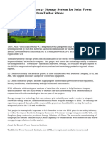 LG Chem Powers Energy Storage System for Solar Power Project in Southeastern United States