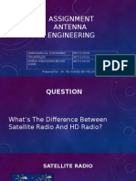 Difference Between Satellite Radio and HD Radio