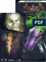 Batman Arkham Asylum Bradygames Official Guide