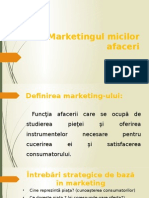 3.Marketingul Micilor Afaceri