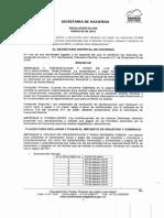 Calendario 2015 Resolucion 006 15
