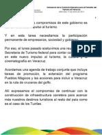 12 01 2011 Instalación de la Comisión Ejecutiva para el Fomento del Turismo en Veracruz