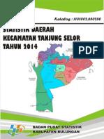 Statistik Daerah Kecamatan Tanjung Selor 2014