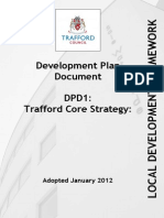 Trafford Core Strategy Adopted January 2012