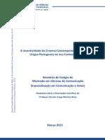 Cinema Contemporâneo Dos Países de Língua Portuguesa