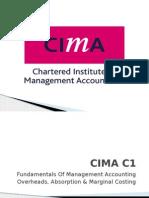 CIMA C1 Unit 3B 2012 Marginal