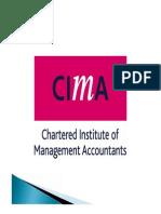 CIMA C1 Unit 5 2012