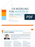 T5AP OBrien Data Modeling for Modern BI and Analytics