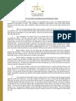 Finanzas Forex Investor Statement of Client Rights
