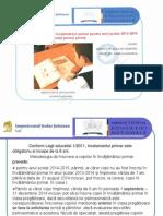 Informatii Parinti Inscriere Invatamant Primar 2014-2015