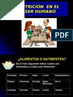 NUTRICION EN EL SER HUMANO.ppt