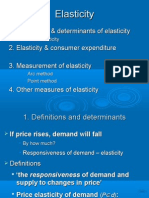 1. a Definition & Determinants of Elasticity