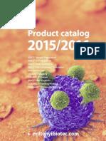 Miltenyi Catalog 2015-2016