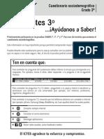CUESTIONARIO SOCIODEMOGRAFICO 3