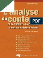 l Analyse de Contenu