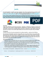 uTest - Q1 Bug Battle Report - TV Networks