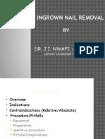 INGROWN NAIL REMOVAL.pptx