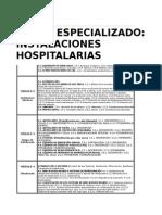 CURSO INSTALACIONES HOSPITALARIAS