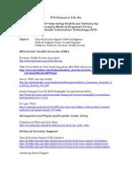 TFS Healthcare Resource File #2.