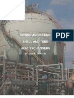 Design and Rating of shell and tube heat exchanger-John E.Edwards