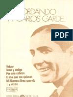 Recordando a Carlos Gardel