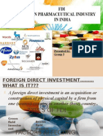 FDI in Pharma(Final)