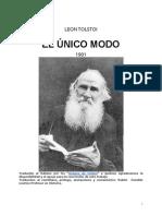 El Unicom o Do Leon Tolstoi