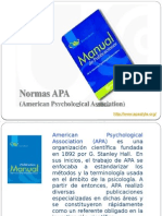 Normas APA - 2015