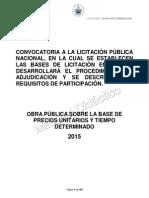 2. Convocatoria y Bases de Licitación 2015.pdf