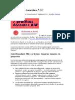 7 Prácticas Docentes ABP